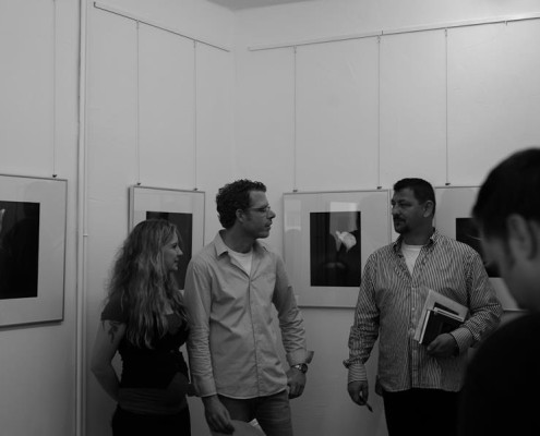 "Vernissage Vernon Trent ""Seance"" am 04.09.2011"