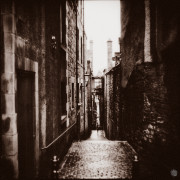 close in Edinburgh - Salt print © Vernon Trent